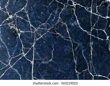 blue background cracked wall texture broken marble slab, abstract lines pattern distressed background