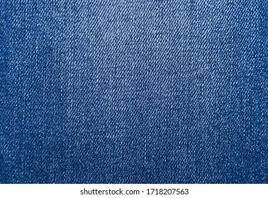 Blue background, denim jeans background. Jeans texture, denim fabric.
