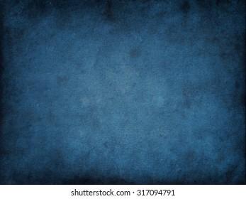 Blue background. Grunge texture background