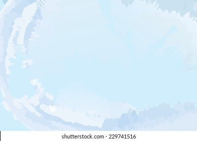 Blue background with an icy look