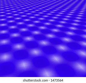 blue background with light spots