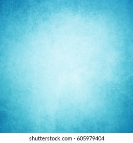 blue background with white center and old paper parchment texture with darker vignette grunge border design