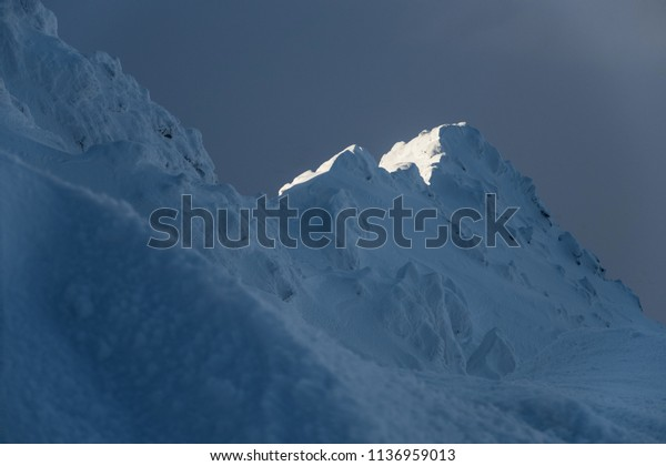 Blue Ballads. Views from the low Tatras Ridge (Slovakia, Europe)