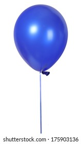 Blue balloon font part of full set upper case letters M