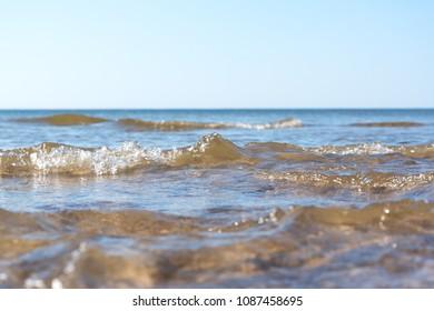 Blue Baltic sea.