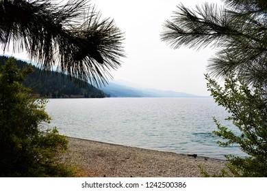 Blue Bay, Flathead Lake, Montana, USA