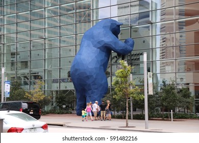 Blue Bear at Denver's Convention Center on July 12 2015
