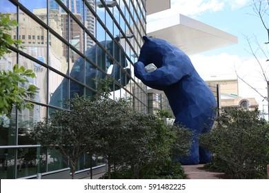 Blue Bear at Denver's Convention Center on July 12 2015