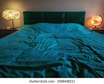 Blue bedroom mood