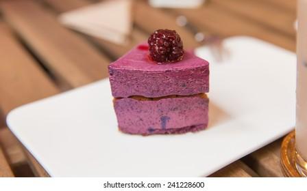 Blue berry cake.
