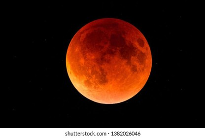 Blue blood moon of 2019
