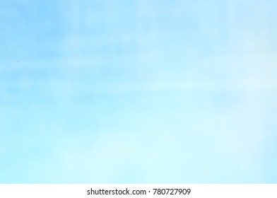 Blue blurred texture solid water ice Christmas background with a smooth gradient pattern booklet for graphic design