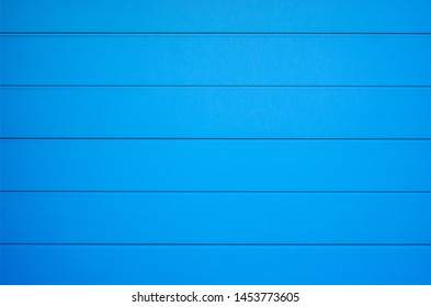 Blue board fence metal texture wall background
