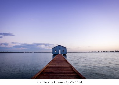 The Blue Boat House, Crawley Edge Boatshed
