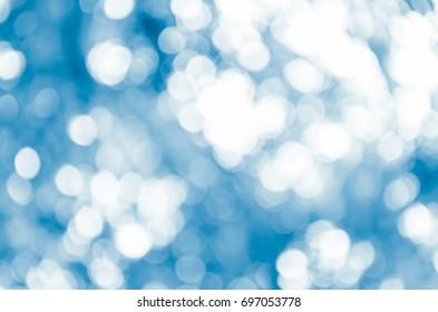 Blue Bokeh background