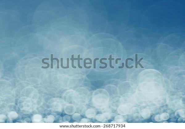 blue bokeh background blur motion