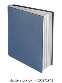 Blue book, isolated