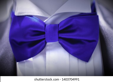 blue bow tie tuxedo wear suit shirt classic