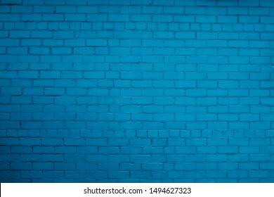 a blue brick wall texture