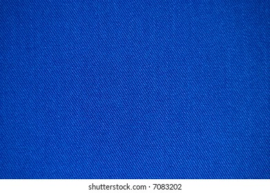 Blue brushed cotton fabric texture