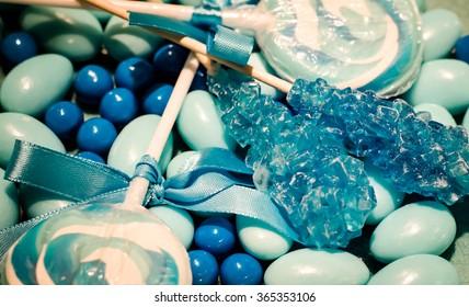 Blue Candy Assortment
