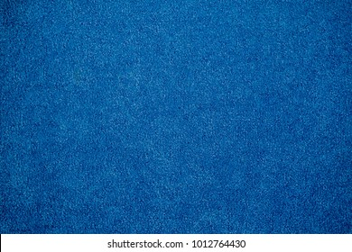 blue carpet.  blue fabric texture background. closeup