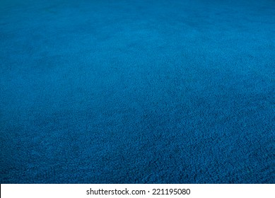 The blue carpet,shooting angle in obliquely.