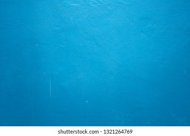 Blue Cement wall is break .Old Gray Cement Wall and floor backgrounds, room, interior, display products.