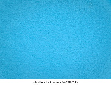 Blue cement wall texture background rough surface and gradation middle to edge