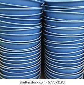 The Blue Ceramic Bowls