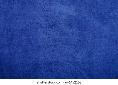 blue chamois texture, fluffy and soft background.