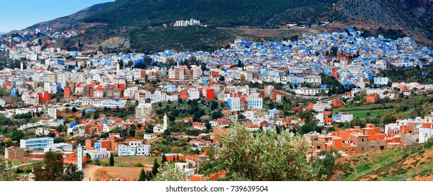 Blue city Chefchaouen, province Tangier-Tetouan, Morocco