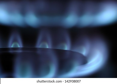 Blue and clean burning natural gas