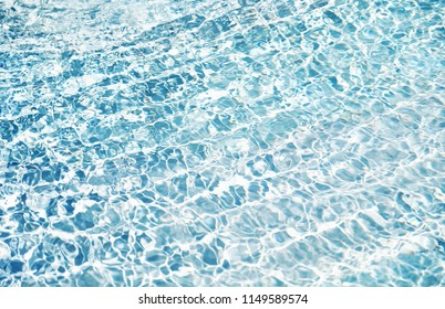 blue clear water background