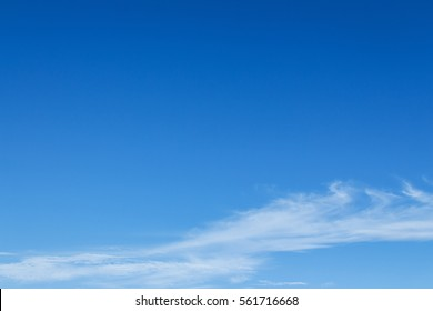 Blue clearly sky in a bright day