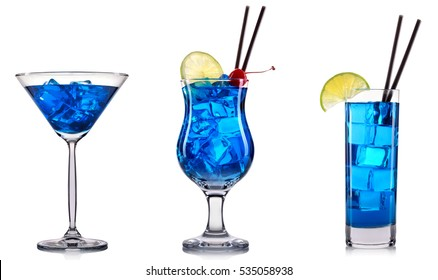 Blue cocktail  Blue Cocktail Images, Stock Photos & Vectors | Shutterstock