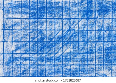 blue color abstract crayon drawing paper background texture