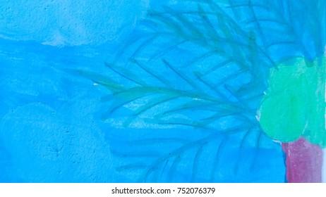 blue color on background
