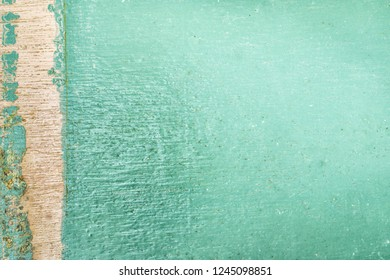 Blue color  wooden paint wall texture  abstract background