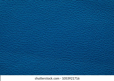 blue colored leather texture