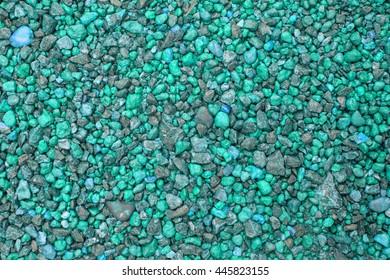 blue Colorful Small Gravel Rocks Pebbles