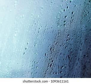 blue condensate background