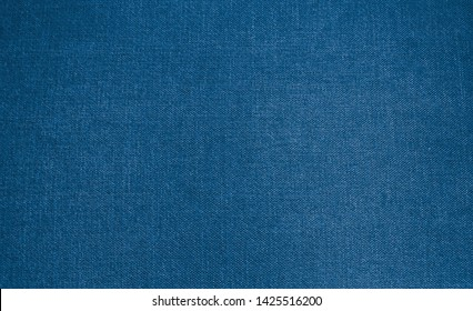 Blue cotton background texture with light blue turquoise color
