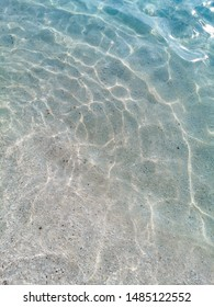 blue crystal water aegean sea