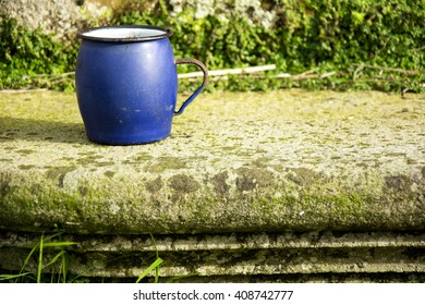 Blue cup 2
