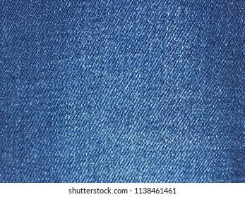 The blue denim