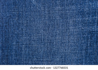 Blue denim jeans background.