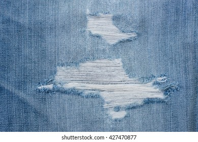 Blue denim jeans texture. blue jean fabric texture. Jeans background. Texture of blue jeans textile close up in vignette with copy space for text or image.
