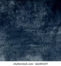 Blue designed grunge background. Vintage abstract texture