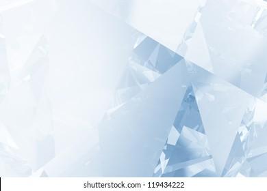 Blue diamond detail background